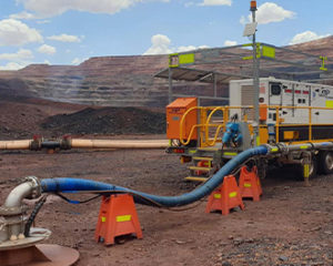 Billiton Iron Ore, Mine Dewatering - VSG Trailer